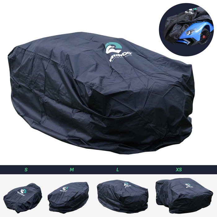kids electric ride on cars rain dust cover large Large - 125 x 75 x 65cm riiroo and