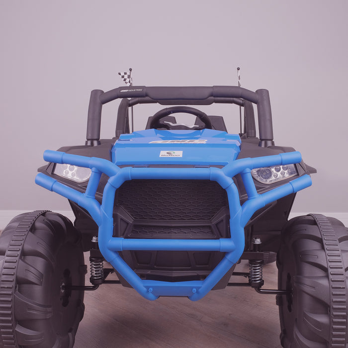 kids electric ride on utv mx battery operated ride on car utv quad with parental remote control 12v front lights direct riiroo maxpow 2s buggy 2wd