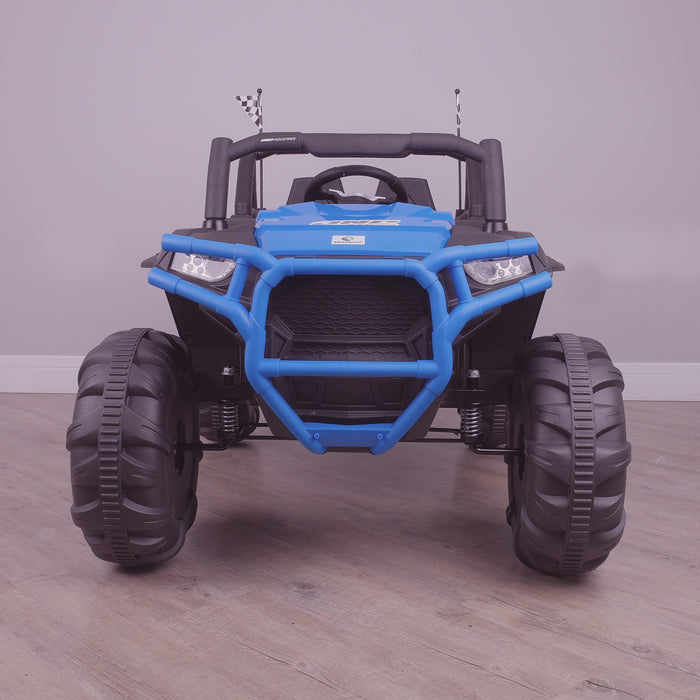 kids electric ride on utv mx battery operated ride on car utv quad with parental remote control 12v front riiroo maxpow 2s buggy 2wd