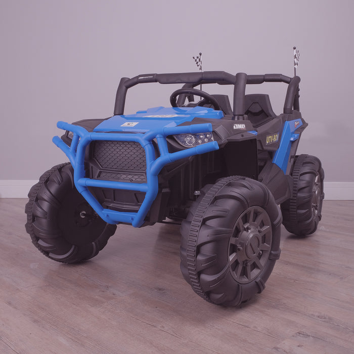 kids electric ride on utv mx battery operated ride on car utv quad with parental remote control 12v perspective riiroo maxpow 2s buggy 2wd