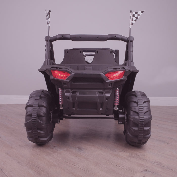 kids electric ride on utv mx battery operated ride on car utv quad with parental remote control 12v rear riiroo maxpow 2s buggy 2wd