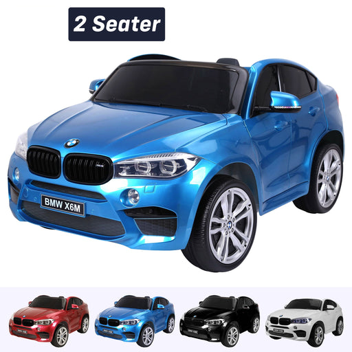kids electric ride on car 24v bmw x6m sport blue2 Blue pack 2wd
