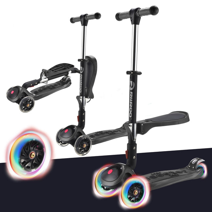 3 In 1 Bambi™ LED Scooter - Black
