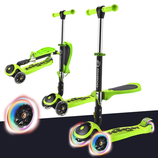 3 In 1 Bambi™ LED Scooter - Green