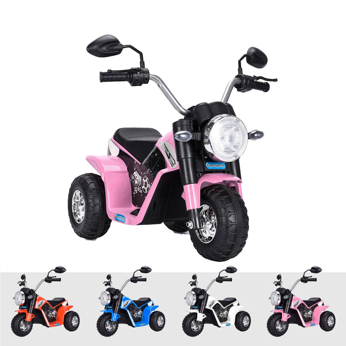kids harley style chopper motorbike battery electric ride bike pink2 ducati 6v battery electric ride on motorbike trike pink
