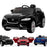 kids jaguar f pace licensed electric battery ride on car jeep with parental remote control power wheels black Painted Black