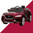 kids jaguar f pace licensed electric battery ride on car jeep with parental remote control power wheels red 3