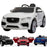 kids jaguar f pace licensed electric battery ride on car jeep with parental remote control power wheels white White