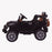 kids jeep wangler style 12 electric ride on car with parental remote 2 black side view wrangler suv battery 12v music