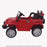 kids jeep wangler style 12 electric ride on car with parental remote 2 red side perspective wrangler suv battery 12v music