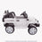kids jeep wangler style 12 electric ride on car with parental remote 2 white side right view wrangler suv battery 12v music