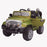 kids jeep wangler style 12 electric ride on car with parental remote green front perspective wrangler suv battery 12v music