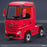 kids mercedes actros licensed ride on electric truck battery operated power wheels with parental remote control main front perspe red benz 24v 4wd