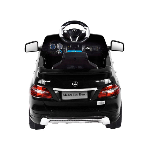 kids mercedes ml350 licensed electric ride on car black 2 4matic