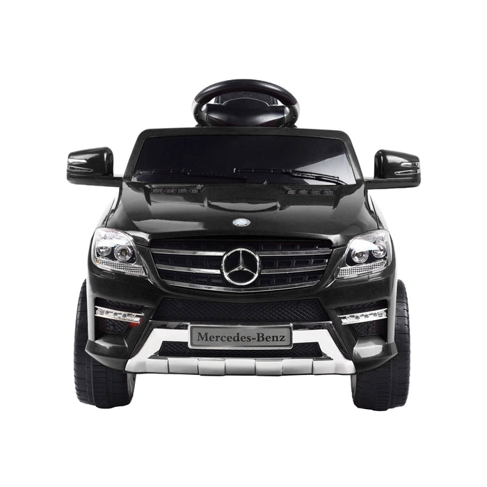 kids mercedes ml350 licensed electric ride on car black 3 4matic 12v 2wd