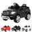 kids mercedes ml350 licensed electric ride on car black Black 4matic