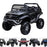 kids mercedes unimog licensed electric ride on car black Paint Black benz utv atv buggy 12v 4wd