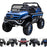 kids mercedes unimog licensed electric ride on car blue benz utv atv buggy 12v 4wd paint camouflage