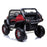 kids mercedes unimog licensed electric ride on car red benz utv atv buggy 12v 4wd