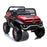 kids mercedes unimog licensed electric ride on car red 7 benz utv atv buggy 12v 4wd paint camouflage