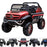 kids mercedes unimog licensed electric ride on car red benz utv atv buggy 12v 4wd paint red