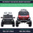 kids mercedes unimog licensed electric ride on car wheels size benz utv atv buggy 12v 4wd paint red