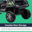 kids mercedes unimog licensed electric ride on car wheels two benz utv atv buggy 12v 4wd