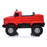 kids mercedes zetros licensed electric ride on car truck red 4 4wd 2 seater