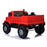 kids mercedes zetros licensed electric ride on car truck red 5 4wd 2 seater