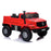 kids mercedes zetros licensed electric ride on car truck red 8 4wd 2 seater