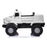 kids mercedes zetros licensed electric ride on car truck white 14 4wd 2 seater