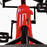kids pedal powered delux go kart s1000 inter riiroo red