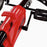 kids pedal powered delux go kart s1000 pedal and brake riiroo red
