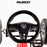 kids pedal powered delux go kart s1000 steering wheel riiroo red
