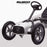 kids pedal powered redux go kart s1000r white close up riiroo 2019