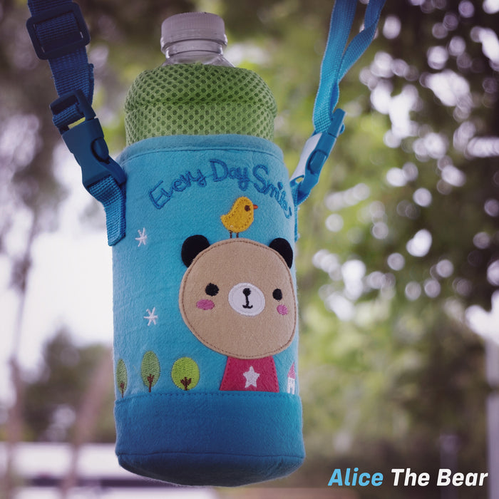 kids push scooter accessories alice the bear bottle holder accessory