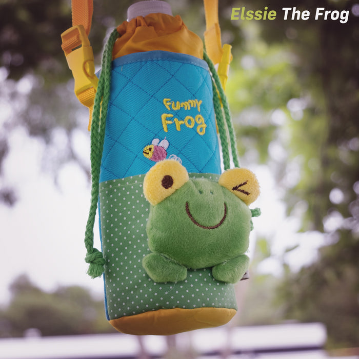 kids push scooter accessories elssie the frog bottle holder accessory