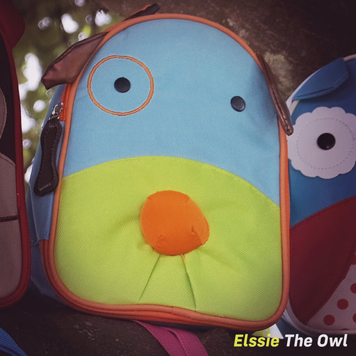 kids push scooter accessories elssie the frog lunch bag accessory
