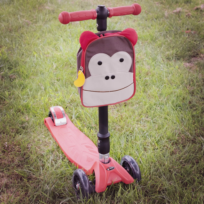 kids push scooter accessories leon the monkey lunch bag accessory