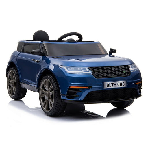 kids range rover velar style electric ride on car jeep blue 5 in painted