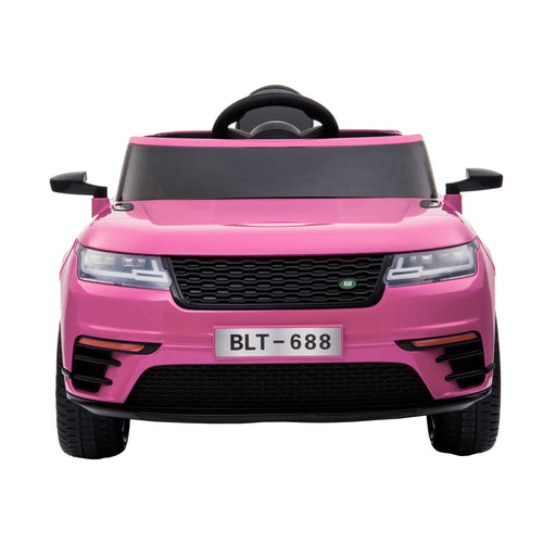 kids range rover velar style electric ride on car jeep pink 11 in