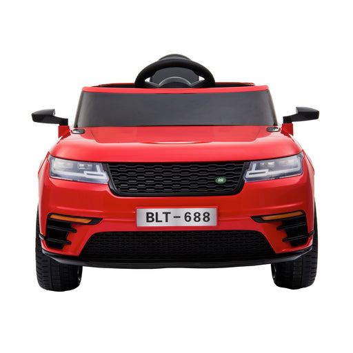 kids range rover velar style electric ride on car jeep red 4 in painted