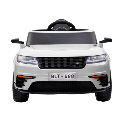 kids range rover velar style electric ride on car jeep white 12v 2wd