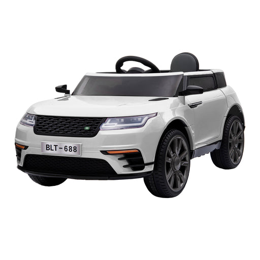 kids range rover velar style electric ride on car jeep white 2 in