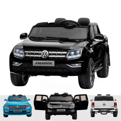 kids vw amarok 12v battery electric ride on car with remote black2 Black licensed range wagon 12v battery electric ride on jeep car remote