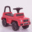 kidspush along mercedes g63 amg with seat storage media centre ride on car 2 red perspective 2 kids push box and pink
