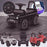 kidspush along mercedes g63 amg with seat storage media centre ride on car black Black kids push box and