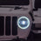 licensed kids 12v jeep wrangler rubicon ride on car jeep with parental remote control front lights night detail 2wd painted grey
