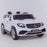 licensed kids 24v mercedes benz gls 63s amg ride on car jeep with parental remote control two seater front angle white 2 63 electric 4wd pink