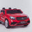 licensed kids 24v mercedes benz gls 63s amg ride on car jeep with parental remote control two seater front close up red 63 electric 4wd